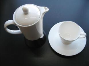 德国唯宝陶瓷摩卡壶 产地意大利,咖啡器具,