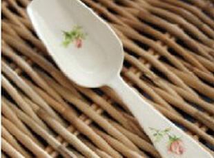 『韩国网站代购』温暖的玫瑰时光 好品质花样方糖勺/茶勺,咖啡器具,