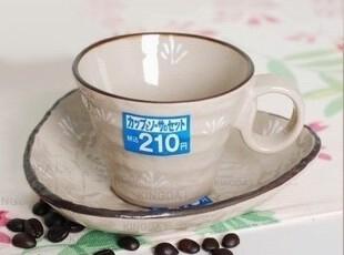 ZAKKA 日本和风陶瓷 手工瓷器 古雅杯碟 原单 咖啡杯 茶杯碟,咖啡器具,