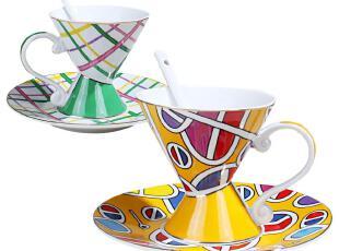 创意骨瓷咖啡杯套装 英国欧式咖啡杯碟 陶瓷咖啡杯 外贸,咖啡器具,