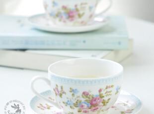 小清新咖啡杯 田园风格 咖啡杯碟4件套 -小时光,咖啡器具,