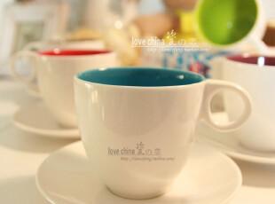 """外贸陶瓷出口瓷器餐具德国ASA""""缤纷之家""""马克杯/咖啡杯两件套,咖啡器具,"""