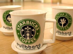 碟套装 咖啡早餐杯 创意水杯奶杯,咖啡器具,