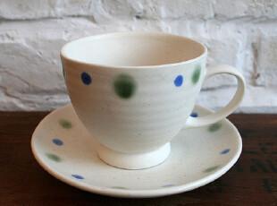 FEN ZAKKA 杂货  波点陶瓷咖啡杯 970082,咖啡器具,