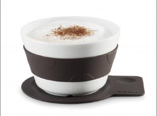 瑕疵特价 德国Blomus 牛奶咖啡杯 矮款 63423 送调羹,咖啡器具,