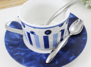 出口美国不锈钢餐具刀叉勺ONEIDA厚柄西餐勺甜品勺咖啡勺宝宝勺子,咖啡器具,