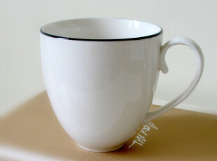 【英国原单】白色牛奶杯/咖啡杯/马克杯/水杯/瓷质细腻光润/特价,咖啡器具,