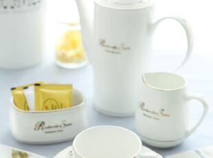 云尚轻 欧式骨瓷咖啡具 澳式咖啡杯套装 正宗唐山骨质瓷 一级品,咖啡器具,