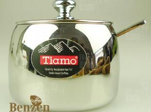 *本真咖啡*TIAMO不锈钢糖缸(附糖匙)/糖盅/保真正品/HG0503,咖啡器具,