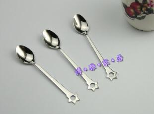 疯狂促销 出口优质不锈钢咖啡更咖啡勺西餐具单只装,咖啡器具,