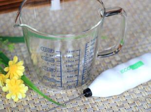 送模具 电动打奶泡器+微波耐热量杯 制作价廉物美的花式咖啡,咖啡器具,
