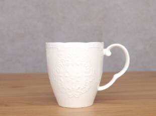 礼盒装-外贸出口日本森也纳高温陶瓷浮雕咖啡杯 马克杯 情侣杯,咖啡器具,