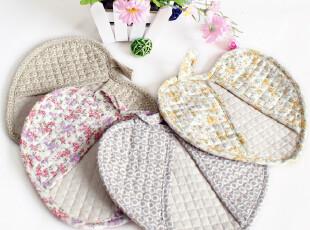心型两用 韩式绗缝 微波炉手套 隔热垫 隔热手套 5.8元个 随机发,围裙,
