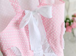 ★公主梦想★韩国家居*甜美教主*粉色点点家居围裙W2197 ,围裙,