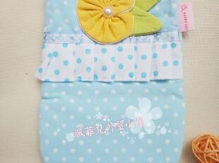 促销价包邮款!外贸出口日本纯棉蓝色波点绣花微波炉手套隔热手套,围裙,