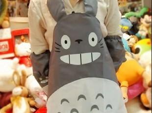 卡通动漫周边 宫崎骏龙猫围裙 可爱卡通工作服 防水龙猫围裙 护袖,围裙,