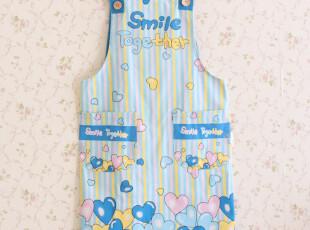 9604*韩版时尚围裙*居家围裙 (三色入),围裙,