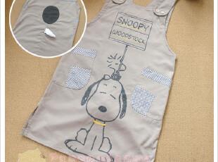 出口日本可爱卡通外贸围裙 原单家居服 史努比日单围裙,围裙,