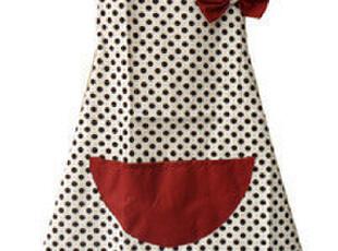可爱圆点围裙  韩版时尚帆布围裙  家居围裙  工作服,围裙,