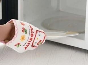 日式家居KT猫微波炉手套 隔热手套呵护双手不再烫,围裙,