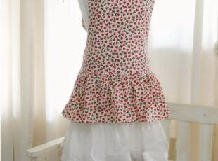 韩国正品代购 全棉韩国公主式围裙  工作服 家居围裙,围裙,