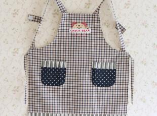 9607*全棉帆布 时尚围裙  居家围裙 厨房围裙 (三色入),围裙,