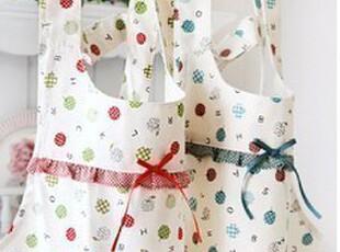 ♥韩国家居♥韩国进口*可爱苹果*家居围裙/厨房围裙(2色选),围裙,