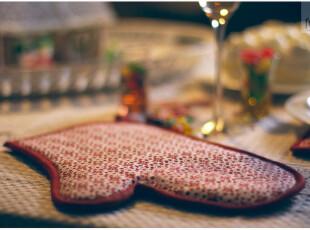 厨房用隔热手套隔热垫套装 微波炉烤箱烘焙手套,围裙,