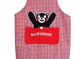 日本熊本县まモンkumamon正版日单家用围裙居家棉质布艺可批发,围裙,