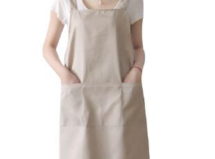 围裙 韩 版 时尚 可爱 工作服 日本 外贸 韩版围裙 男女 咖啡厅米,围裙,