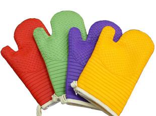 美国购 硅胶隔热手套 Silicone Glove soft Fabric liner,围裙,