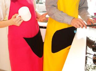 可爱情侣家居 布艺 背带式围裙 尚之淳 2012宜家新款,围裙,