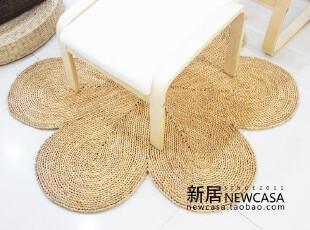外贸原单宜家无印良品风环保草编地毯地垫块毯门垫,地毯,