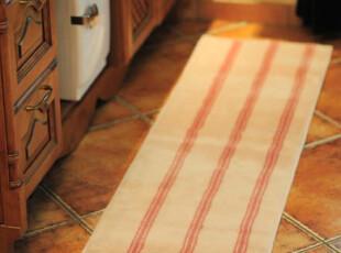 ROBO-TW04粉条纹 千趣会风厨房浴室垫飘窗垫卧室垫衣帽间地毯,地毯,