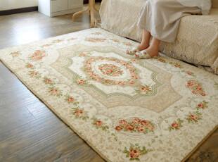 【已质检】ROBO欧式复古风宫廷地毯1.3*1.9米,地毯,