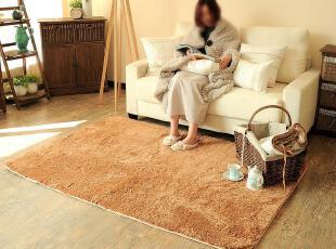 地毯定制 机洗丝毛超柔地毯 不掉色不掉毛 纯色定做地毯 8色,地毯,