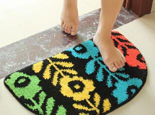 特价正品大达可爱多彩半圆防滑地毯地垫门垫卫生间浴室垫,地毯,
