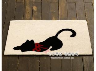 ★公主梦想★韩国家居*撒娇小猫咪*装饰地垫*C1490,地毯,