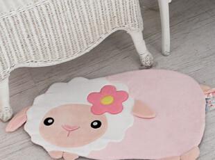 『韩国网站代购』可爱小绵羊地垫,地毯,