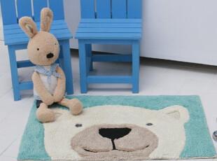 ★公主梦想★韩国家居*日本产*憨厚的熊*装饰地垫 M1594,地毯,