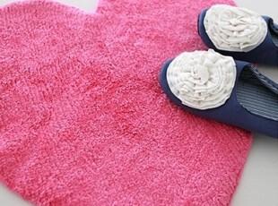 【Asa room】韩国进口代购脚地毯 粉色可爱桃心卧室客厅地毯 d087,地毯,