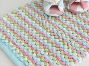 【Asa room】韩国进口地毯代购 可爱点点客厅卧室地毯地垫 d091,地毯,