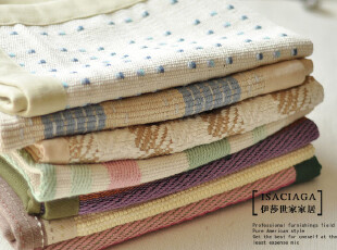 日系和风高档纯棉包边多用巾门垫地垫坐垫沙发椅子垫子踏脚布,地毯,