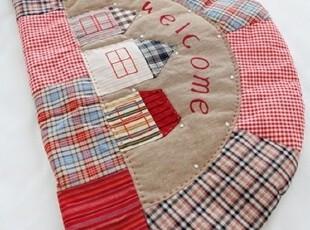 【Asa room】韩国代购进口地毯 可爱格子卧室客厅地毯拖鞋 d111,地毯,