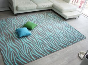 【韩国家居】保暖短绒 斑马纹防滑地毯地垫 小中大超大3规格 2色,地毯,
