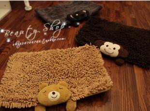 特 超可爱趴趴小动物雪尼尔地垫/门垫 多款入PH,地毯,