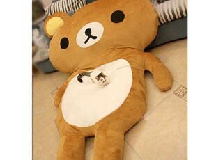 日本原单正品轻松 熊 超大2米4地垫床垫睡垫榻榻米懒人沙发,地毯,