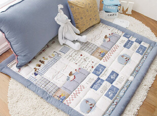 echo house 韩国代购 韩式儿童婴儿无味防滑爬行垫子 地垫 坐垫,地毯,