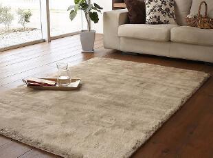 最新款包邮 日式水洗超柔丝毛客厅卧室防滑地毯地垫 10色可定做,地毯,
