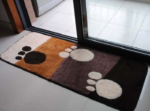 2011金佳利 超柔软吸水防滑地垫/门垫/地毯/厨房垫 6616咖啡,地毯,